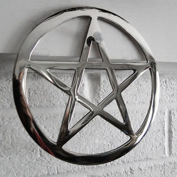 Metalworks 6 inch Pentagram Altar Tool/Home Decor