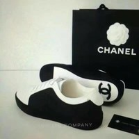 CHANEL A tie all-match casual shoes