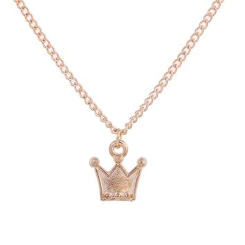 Crown Necklace with Inspirational Message Card