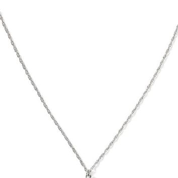 Banana Republic Horn Necklace Size One Size - Silver