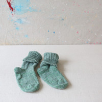Maine Wool Socks - Green or Blues
