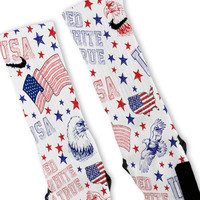 American Freedom USA Custom Nike Elite Socks
