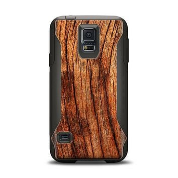 The Warped Wood Samsung Galaxy S5 Otterbox Commuter Case Skin Set