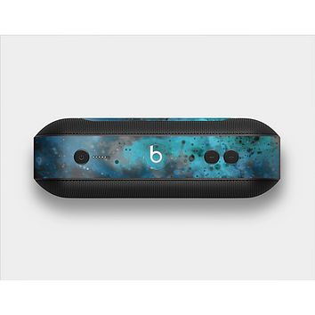 The Blue and Teal Painted Universe Skin Set for the Beats Pill Plus