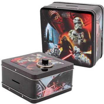 Star Wars Force Awakens Penny Bank with Combo Lock - CASE OF 12