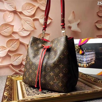 Lv Louis Vuitton Monogram Canvas Neonoe Shoulder Bag