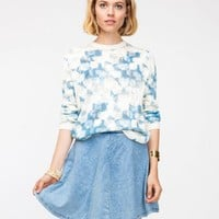 Topshop / Burnout Jumper