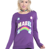 Gravity Falls Mabel Intarsia Girls Sweater