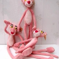 Nici pink panther powder plush toy doll birthday gift wedding gift