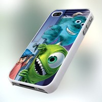 PCFA92 Monster Inc Design For IPhone 4 or 4S Case / Cover
