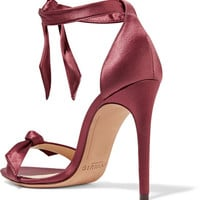 Alexandre Birman - Clarita bow-embellished satin sandals