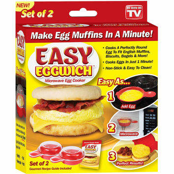 BNIB As Seen on TV Easy Eggwich Microwave Egg Cooker