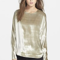 Women's J Brand Ready-To-Wear 'Romy' Velvet Top