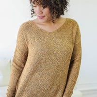 All For You Sweater - Mustard