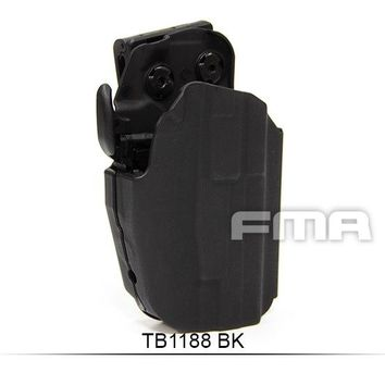 Hunting Holster Gear FMA GLS5 GLOCK Airsoft POUCH BLACK Guantes Browning Righthand for 100 Guns more with type  Free shipping