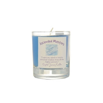 Ascended Masters soy votive candle
