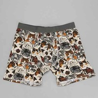 Wallpaper Cats Boxer Brief- Cream