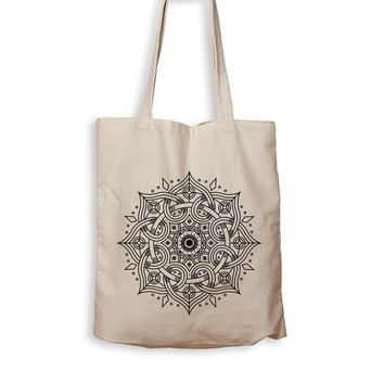 Mandala Flower - Tote Bag
