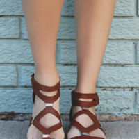 Path of the Warrior Sandal - Whiskey