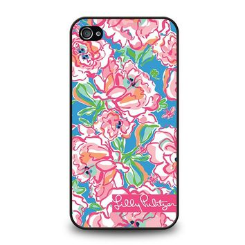 LILLY PULITZER CHARMS iPhone 4 / 4S Case Cover