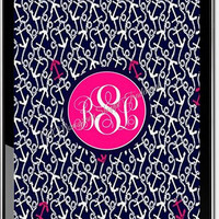 Personalized Monogrammed Lily Pulitzer Wallpaper