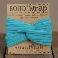 Turquoise  Boho  Wrap  From  Natural  Life