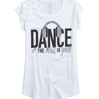 Dance Graphic Long Tee