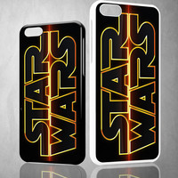 Star wars logo V0511 iPhone 4S 5S 5C 6 6Plus, iPod 4 5, LG G2 G3 Nexus 4 5, Sony Z2 Case