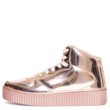 Cape RObbin Polo-5 Women's Rose Gold Sneaker