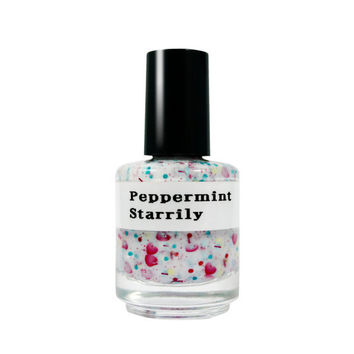 Peppermint - Handmade nail polish Full bottle Holiday Collection