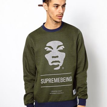 Supremebeing Iconoclast Sweatshirt With Crew Neck