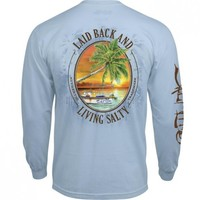 Laid Back Long Sleeve Pocket Tee