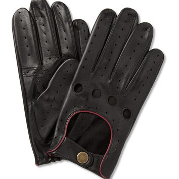 Dents Perforated Leather Driving Gloves | MR PORTER