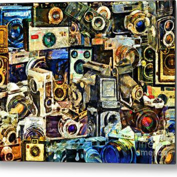 Abstract Photography 20160801 Everyone's A Photographer These Days, With A Camera In Every I-phone, Metal Print