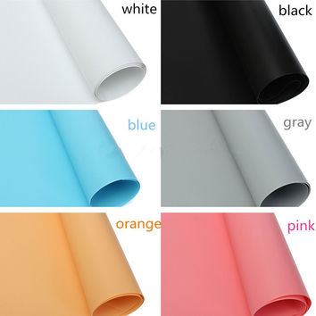 2PCS 70CMX140CM Photo Photography Paper Roll Studio Lighting Background Backdrop