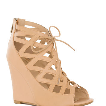 R U Mine Wedges - Nude