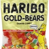 Haribo Gummi Candy, Original Gold-Bears, 5-Ounce Bags (Pack of 12):Amazon:Grocery & Gourmet Food