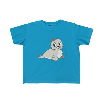 Cute Baby Seal Toddler Fine Jersey Tee