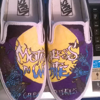 Motionless in White Creatures Custom Vans
