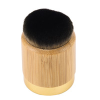 1PCS Tart Powder Blush makeup brushes Bamboo handle make up blending powder foundation contour brushes kabuki Cosmetic Tool kit