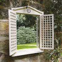 Old Rectory Mirror with Shutters | Garden | Home & Lifestyle | Kaleidoscope