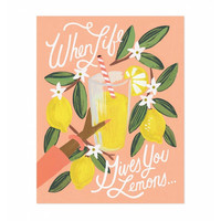 Rifle Paper Co: Lemons To Lemonade Art Print