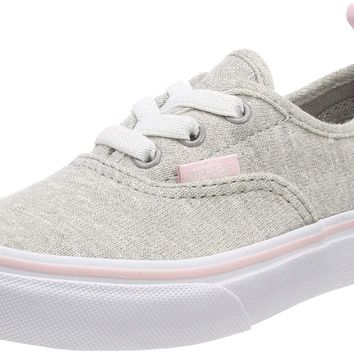 Vans Kids Authentic Elastic (Elastic Lace) Skate Shoe