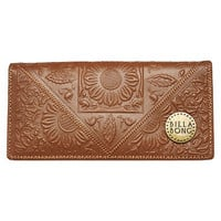 BILLABONG ORACLE LEATHER WALLET - TAN