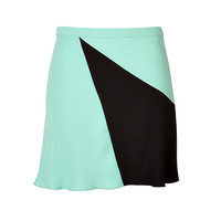 Marc by Marc Jacobs - Flared Skirt in Mint/Black