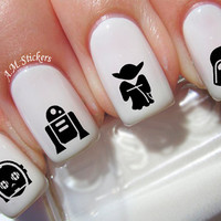 78 Star Wars Nail Decals