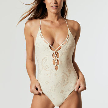 Nicolette One Piece in Ivory