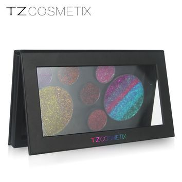TZ Empty Magnet Makeup Palette Four Sizes Are Optional Black Blush Shadow Palette Concealer DIY Make Up Tool Set Box TZ-box