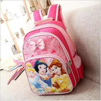 Kids Bag Children Schoolbag Princess Backpack Girls School Bags Kids  Backpack Shoulder Bag Mochila Infantil