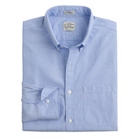 J.Crew Mens Slim Secret Wash Shirt In End-On-End Cotton